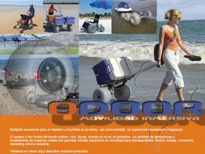 Ruedas especiales para la arena marca wheezleez en www.odoor.org
