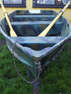 Bote de aluminio marca starcrafh de 45 kilogramos