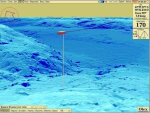 Vendo sistema olex para navegación, pesca y mapeo de fondo marino