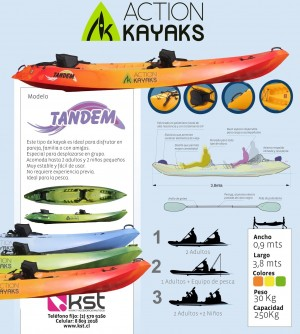 Fabrica de kayaks chile, venta por menor y mayor