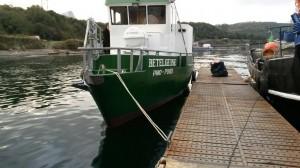 Lancha motor arriendo para servicios maritimos y cabotaje