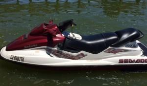 Arriendo moto de agua bombardier gtx lago rapel