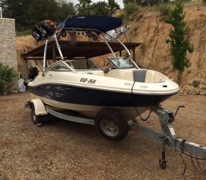 Searay 185 sport wake limited, 4.3 cc, año 2007