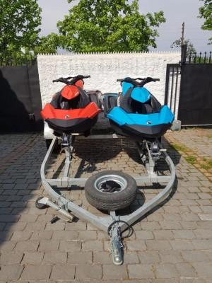 2 motos de agua seadoo spark 90 hp más carro arrastre