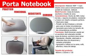 PORTA NOTEBOOK MULTIFUNCIONAL: mesa de lectura, escritorio, para almacenar