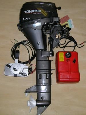 Motor nuevo 8 HP de 4 tiempos modelo 2006